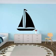 The white house show submenu for the white house. Amazon Com Sailboat Wall Decor For Kids Bedroom Personalized Wall Decals For Kids Bedroom Play Room Or Beach House Small Large Sizes Black White Yellow Green Other Colors Handmade