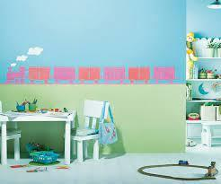 Make the ambience robust with furniture in dark tones of grey or wood. Kids World Wall Stencils For Your Kids Asian Paints