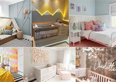 First up are wood photo frames, they give a warm and classic look. Wall Texture Ideas for Kids and Baby Room