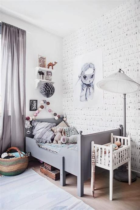 Finally, some people look at picture capacity, theme, brand, life stage, shape, frame texture, and special offers. Vintage Grey Kids' Room - Petit & Small
