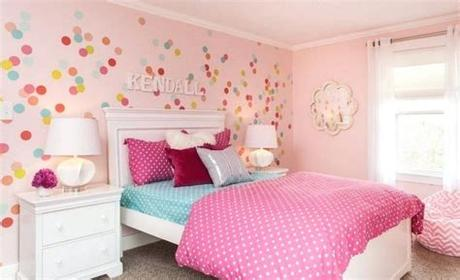Cute interior of kid room with baby accessories, toys and poster frame. 35 Best Kids Room Paint Colors For 2019 - Minimal Spark
