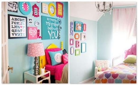 Stylish interior design of child room with mockup poster frame for kids, design. Wall decor ideas for kid's rooms! - Amazing House Design