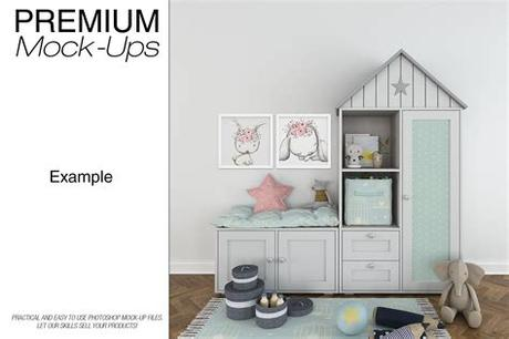 4.8 out of 5 stars 16. Kids Room - 90 Frames Wall & Rug Set | Frames on wall ...