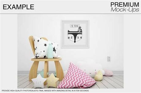 When exploring baby picture frames, picture size (searched by 3% of customers) would be most critical in your research. دانلود موکاپ قاب عکس و کاغذ دیواری اتاق کودک Kids Room ...