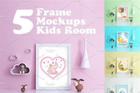 Shop for picture frames for kids rooms at bed bath & beyond. Kids Room Frame Mockups (с изображениями)