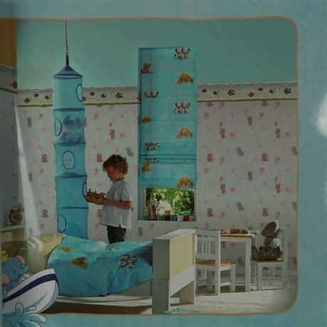 Shop for picture frames for kids at bed bath & beyond. Mgk552-5 Wall Art Stickers Texture Fancy Paper Kids Room ...