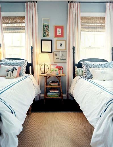 Dhp junior twin, low bed for kids, white bunk. Shared Kids Bedroom - Cottage - boy's room - Lonny Magazine