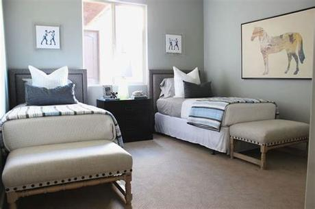 The birch white finish complements most interiors.\n. collection   kids room, boys' room, twin beds, upholstered ...