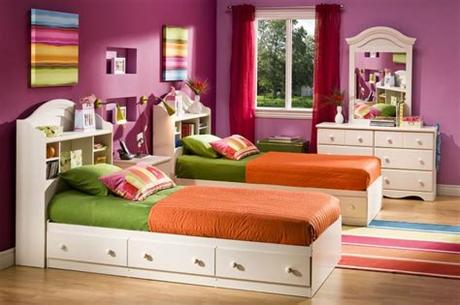 A twin or full bed provides plenty of space without overwhelming a smaller room. Toddler Twin Beds for Kids' Room - HomesFeed