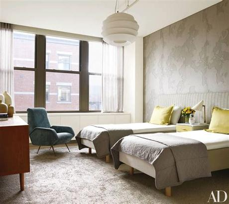 New kids room ideas comming soon! How to Decorate with Two Twin Beds - Guest Room and Kids ...