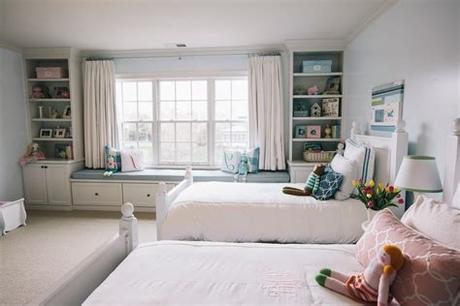 Choose from designs by oeuf, babyletto and blu dot, among others. bedroom with 2 twin beds rooms blue carpet traditional ...