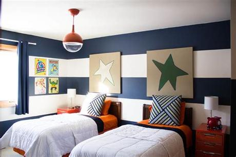 And, they don't take up a ton of space, which means adding in the rest of the furniture (bookcase, desk, dresser) is no problem. Dazzling captains bed twin in Spaces Transitional with ...