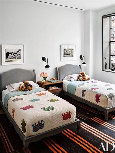 Cb2 andes white twin bed ($799). The Peak of Très Chic: Children's Chic