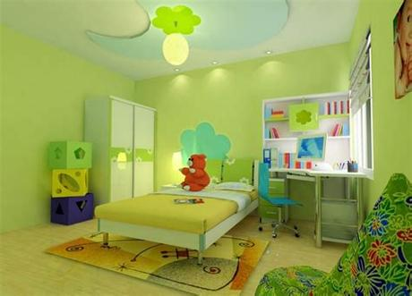 Kids room ideas for boys toddler. 15 Proofs That Green Is Always Great Choice For The Kids Room