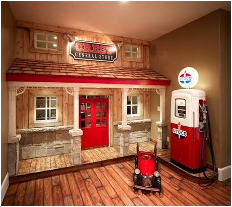 Somos una empresa dedicada a la inspiración de tu hogar, queremos ofrecerte todo para tu casa al mejor precio 15 Fun and Cool Indoor Playhouse Ideas for Your Kids ...