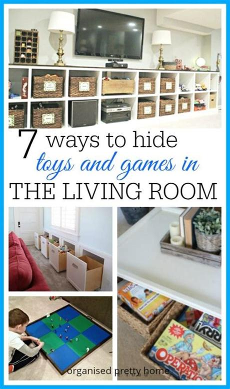 Quality hardwood kids bedrooms furniture. Living Room Toy Storage Ideas - Organised Pretty Home