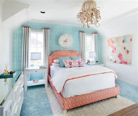 That's when this chest style murphy bed is a total winner. Beautiful Bedroom for Kids Girls with Queen Size Bed ...