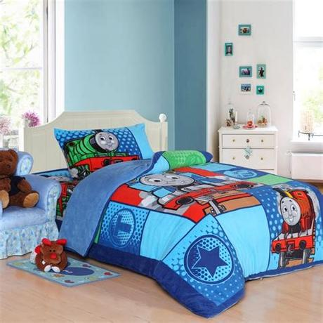 ( 0.0 ) out of 5 stars current price $742.78 $ 742. Train Thomas kids bedding set queen size cartoon blue ...