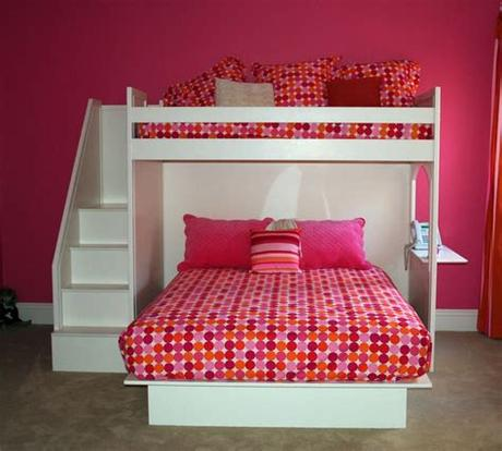 The room itself is generally between 100 and 200 sq ft. fantasy bunk bed