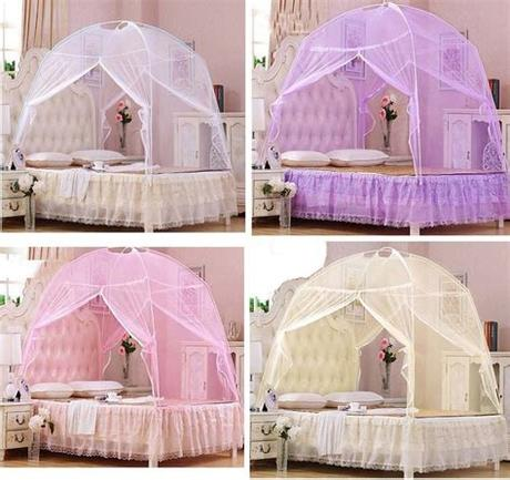 Turn their room into an oasis with fun, colorful, and modern comforter sets that will spark girls' and boys' imaginations. Hight QC Bed Canopy Mosquito Net Tent For Twin Queen Small ...