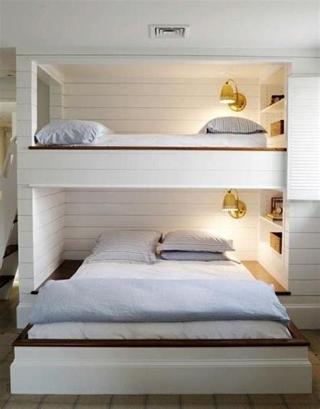 Generally, storage furniture like nightstands and dressers are only included with kids full size bedroom sets. Queen size bunk beds for adult   Kids Bedroom in 2019 ...