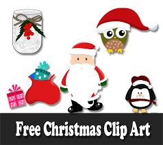 Christmas clipart, frame for congratulations, postcards. Free Christmas Clip Art Santa Gingerbread And Christmas Tree Clip Art