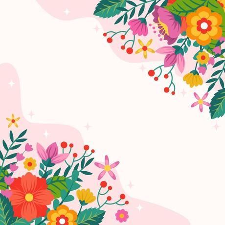 Spring Flowers Background 2073043 Vector Art At Vecteezy