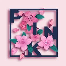 A wide variety of 3d pictures of beautiful flowers options are available to you, such as landscape, scenery, and portrait. Free Vector Pink 3d Flowers In Paper Style With Lettering