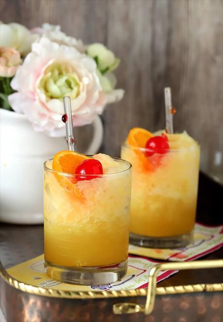 Brandy Slush Cocktail