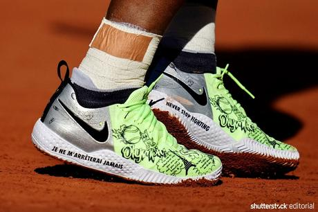 Serena Williams Rocks Custom Nike Shoes Covered With Inspiration And Badass-isms