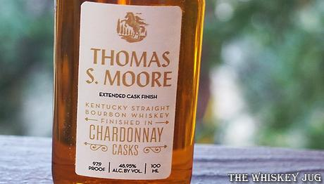 Thomas S. Moore Bourbon Chardonnay Casks Label