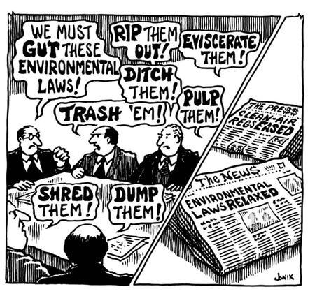 Cartoon guide to biodiversity loss LXVI