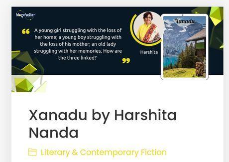 Xanadu by Harshita Nanda #BlogchatterEbook #bookchatter #bookreview #books @ashnhash