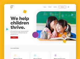 Thumbnail images for search results are large and the so is the text font used to make it easy to read. Kids Website Designs Themes Templates And Downloadable Graphic Elements On Dribbble