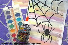 Kiddle.co is a web search engine and online encyclopedia emphasizing safety for young children. Black Glue Watercolor Spider Web Kid Craft Idea For Halloween