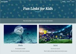 There are even animated cards kids can send to those they love. Web Design For Kids Google Sites Features To Love Technokids Blog