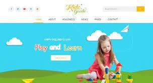 The website for kids' coloring pages, videos and leisure activities hellokids.com is amongst the best websites for kids' activities. How To Find A Wordpress Theme For A Kids Or Children S Website Best Wordpress Theme 2021