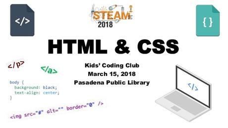 Web Design Basics For Kids Html Css