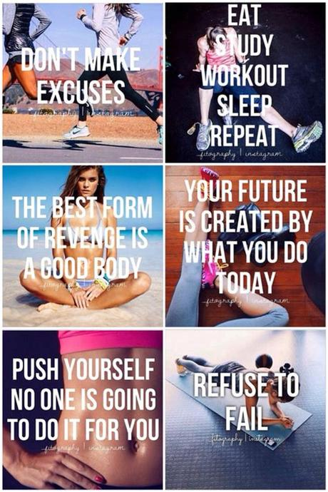Workout motivation pictures, photos, and images fo. Collage Of Workout Inspiration Pictures, Photos, and ...