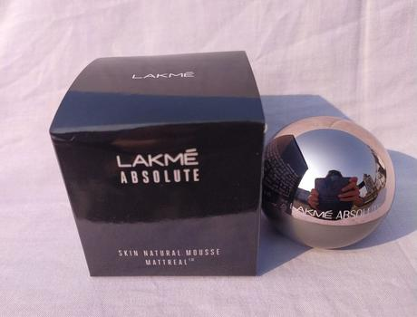Lakme Absolute Mattreal Skin Natural Mousse – Ivory Fair Review