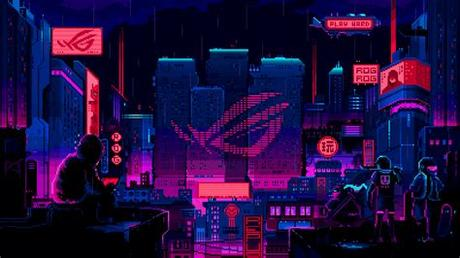 Customize and personalise your desktop, mobile phone and tablet with these free wallpapers! ArtStation - ROG Wallpaper Design, Pixel Jeff in 2020 ...