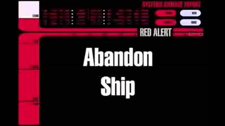 STAR TREK FANS ABANDON SHIP