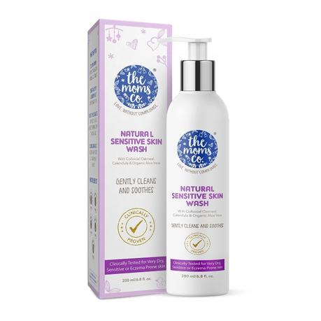 The Mom Co. Natural Sensitive Skin Wash (Price - Rs. 479) -