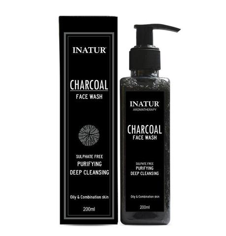 Inatur Charcoal Face Wash
