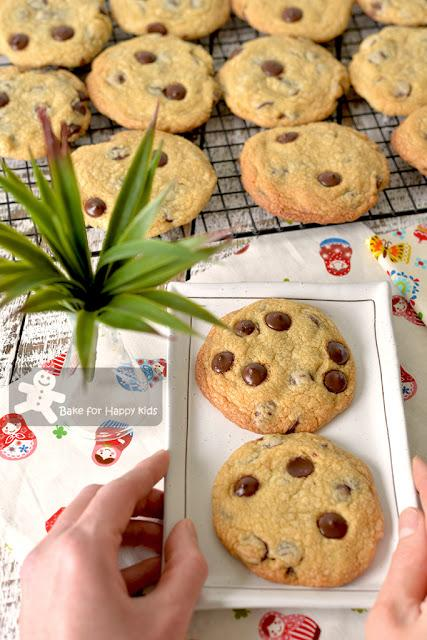 best copycat Chips Ahoy chocolate chip cookies recipe one two less sugar crispy crunchy