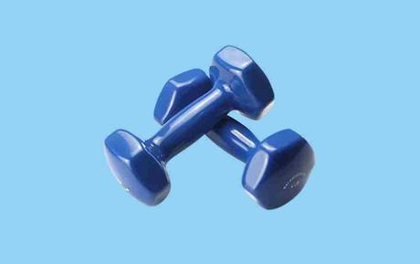 Balance Form GoFit All-Purpose Solid Iron Cast Dumbbells