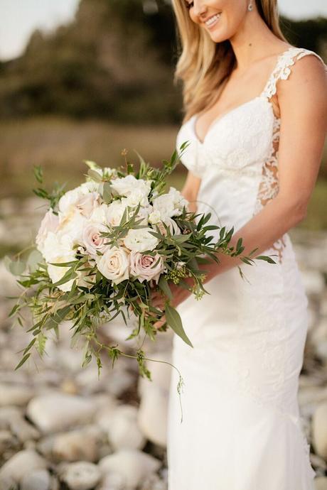 Elegant White Wedding at Bacara Resort - Flowers by Cina