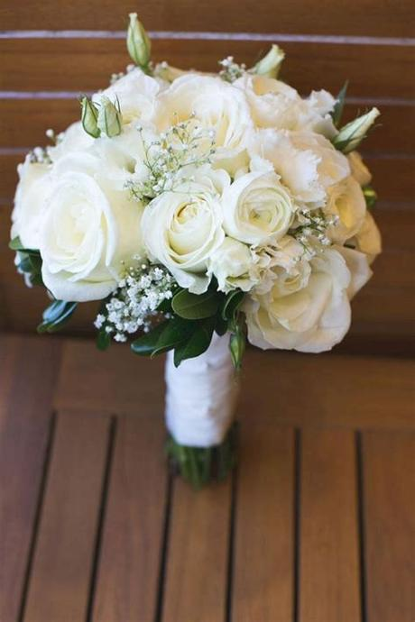 Wedding fotos wedding photoshoot wedding pics wedding bells wedding white wedding venues wedding ideas wedding dress tea length find artificial flowers for your diy fall wedding floral arrangements, like this absolutely beautiful mauve pink fake english cabbage rose stem. White Wedding Bouquet Ideas 33   White wedding flowers ...