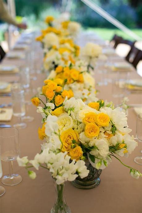 White wedding flowers embody purity, innocence, and romance. Yellow Wedding Flowers   Wedding Ideas By Colour   CHWV