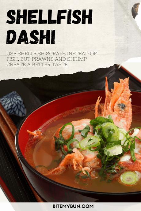 Homemade Shellfish Dashi stock
